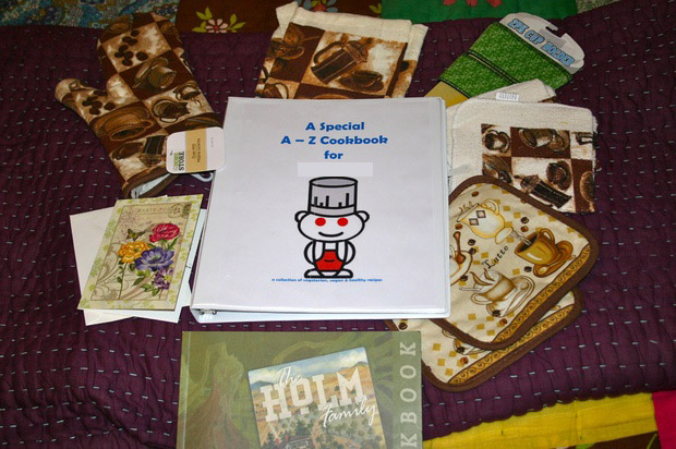 Reddit Cookbook Exchange