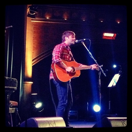 Ben Gibbard at Union Chapel